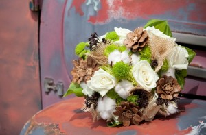 cotton bouquet